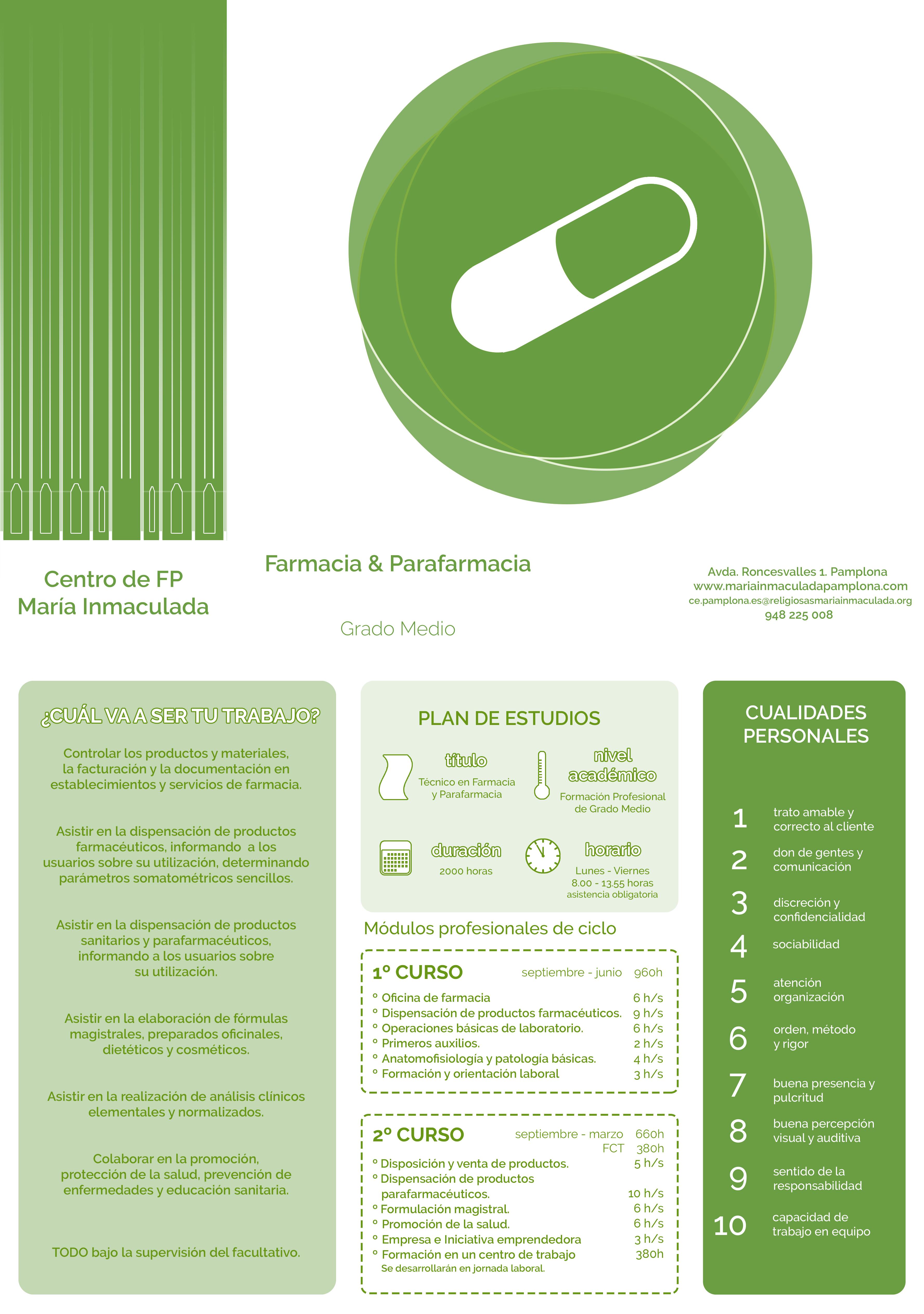 Farmacia Y Parafarmacia Mª Inmaculada Pamplona